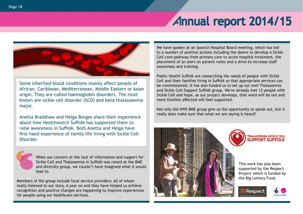 About Us – Sickle Cell Society Suffolk